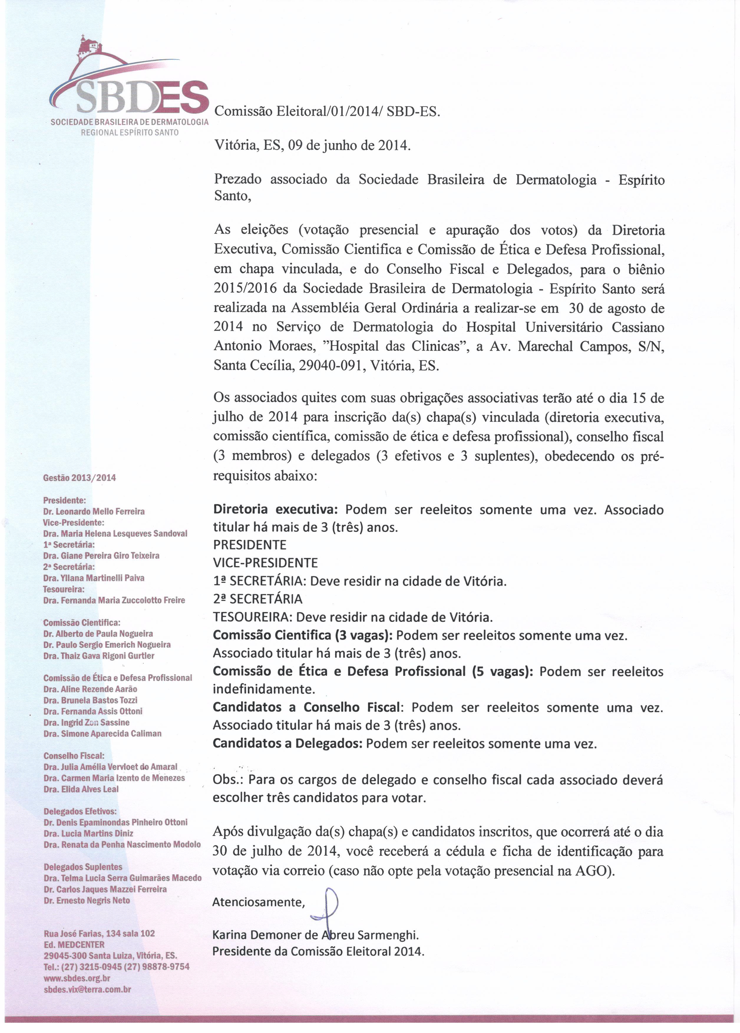 Ct comissao Eleitoral 01 14